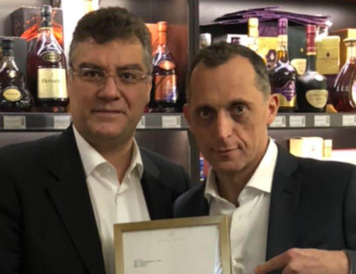 Салон «Сигары и Виски» на Маяковской стал официальным депозитарием Davidoff!!!