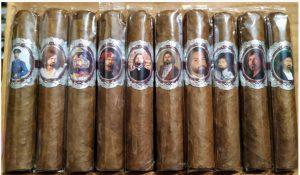 именные сигары Никаса Сафронова от SIGLO DE ORO