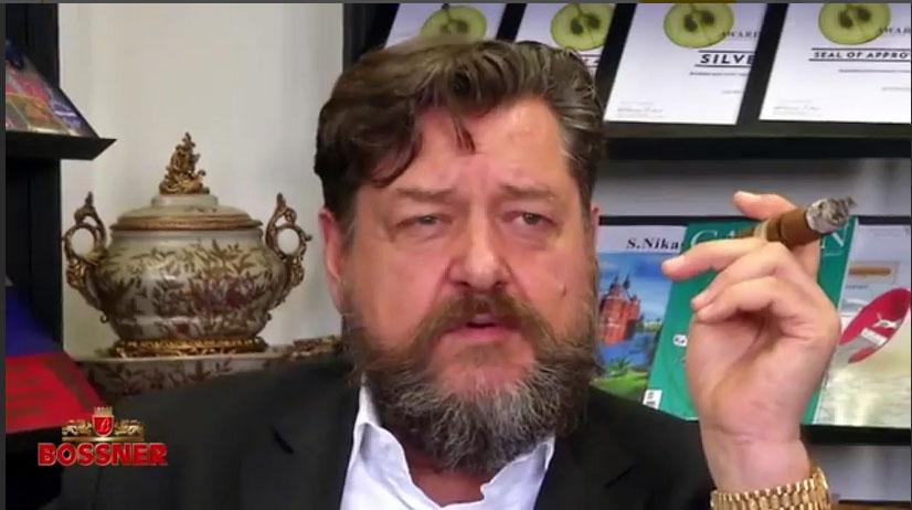 «Сигарный» барон Константин фон Босснер — почётный член СИГАРНОЙ ЛИГИ