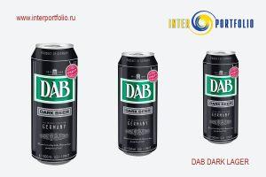DAB DARK LAGER 0,5 банка