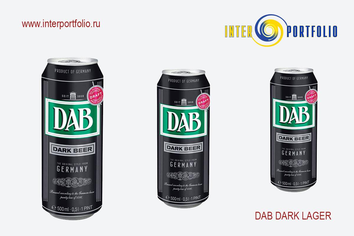 DAB DARK LAGER 0,5 банка — АССОЦИАЦИЯ ЛЮБИТЕЛЕЙ ПИВА THE BEST OF BEER , компания InterPortfolio, СИГАРНАЯ ЛИГА и клуб ОЧЕНЬ ДЕЛОВЫЕ ЛЮДИ рекомендуют!