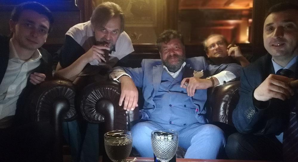 у нас в гостях барон Константин фон Босснер / сигарный лаунж ТИФЛИССКИЙ ДВОРИК
