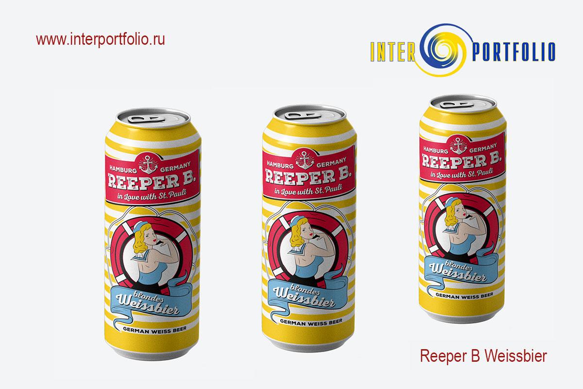 Reeper B Weissbier — АССОЦИАЦИЯ ЛЮБИТЕЛЕЙ ПИВА «THE BEST OF BEER«, компания InterPortfolio, СИГАРНАЯ ЛИГА представляют!