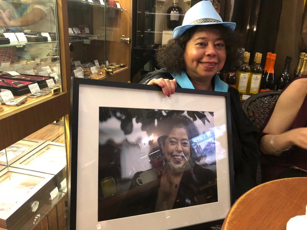 ФОТООТЧЁТ — Вечер Никарагуа в салоне Сигары и Виски с участием её Превосходительства Посла госпожи Альбы Асусены Торрес Мехия