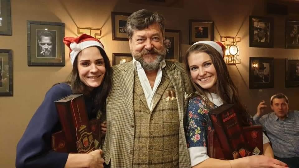 26 декабря Московский сигарный клуб провел дружескую рождественскую вечеринку!