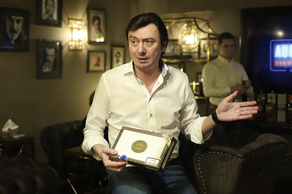 фотоотчёт от 9.12.19 — Московский Сигарный Клуб в Тифлисском дворике