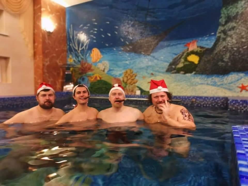Московский сигарный клуб встретил Старый Новый год традиционной, уже  13-й по счету староновогодней сигарной баней!