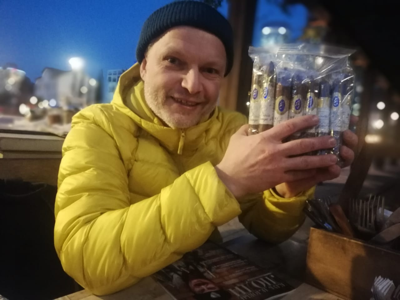 один из лучших сигарных дизайнеров Илья Юданов